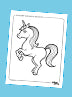 Free!! Silver Lining Rainbow Unicorn Activity Pages