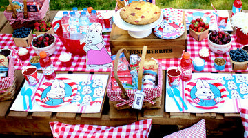 Max & Ruby Picnic | A Great Social Distancing Party Idea