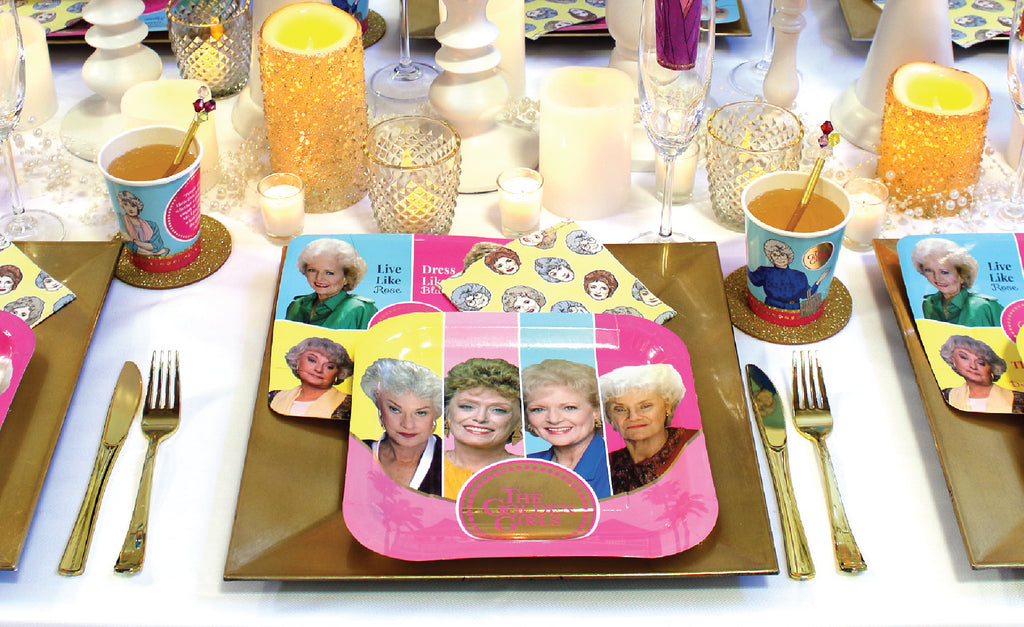 Golden Girls Friendsgiving Place Setting