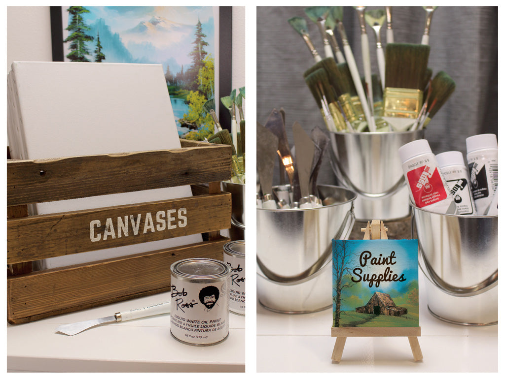 How To Host A Bob Ross Party Prime Party