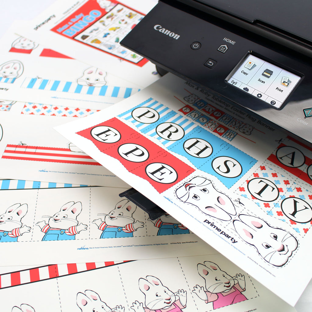 Printable Easter Decorations Max and Ruby Printer