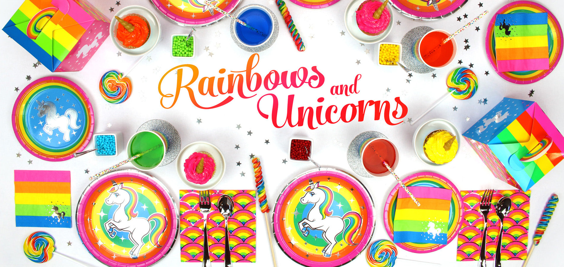 Rainbow Unicorn Birthday Party Supplies | Prime Party