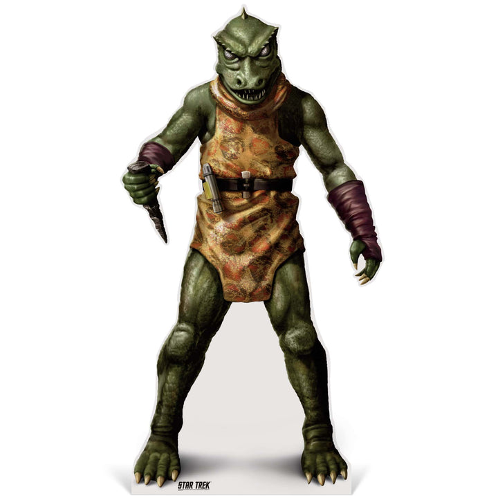 Advanced Graphics Standee Gorn Life-Size Cardboard Cutout | Star Trek Gorn Life-Size Cardboard Cutout | Prime Party 1080STG1