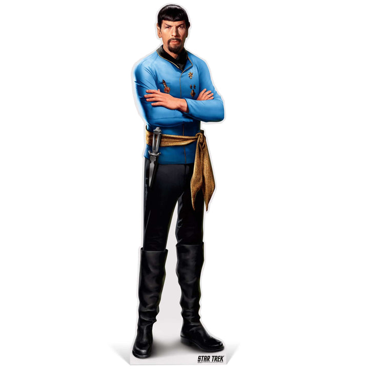 Advanced Graphics Standee Mirror Spock Life-Size Cardboard Cutout | Star Trek Mirror Spock Life-Size Cardboard Cutout | Prime Party 1080STSM