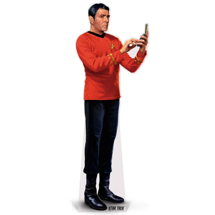 Advanced Graphics Standee Scottie Life-Size Cardboard Cutout | Star Trek Scottie Life-Size Cardboard Cutout | Prime Party 1080STSC