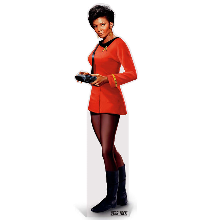 Advanced Graphics Standee Uhura Life-Size Cardboard Cutout | Star Trek Uhura Life-Size Cardboard Cutout | Prime Party 1080STU1