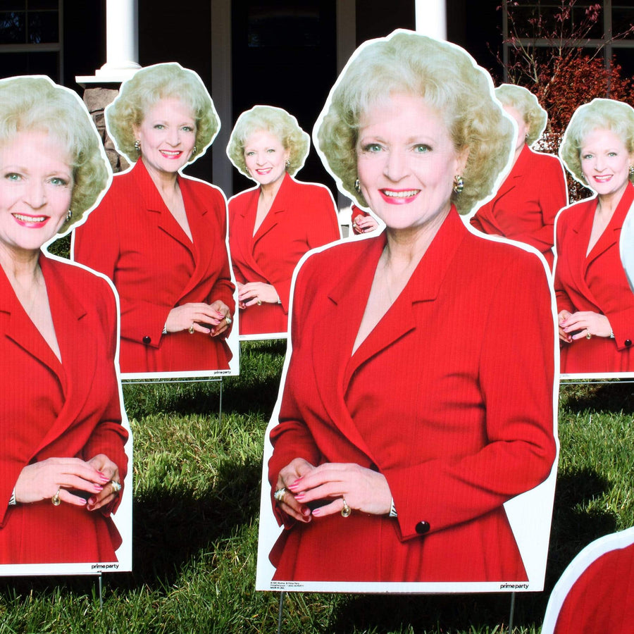 Advanced Graphics Yard Sign A Dozen Red Roses A Dozen Red Roses Yard Sign Kit (13 Piece Set) The Golden Girls 1060YSDR12