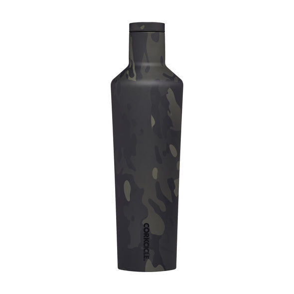 Corkcicle Black Camo 25 oz Canteen