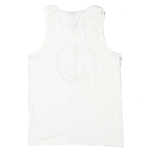 Captain Fin Original Anchor WHT Tank - Outer Tribe
