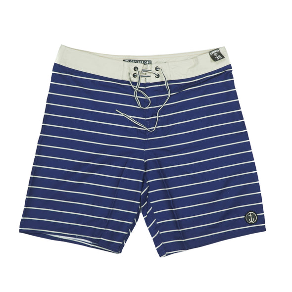 CAPTAIN FIN TIME WRAP BLUE BOARDSHORT - Outer Tribe
