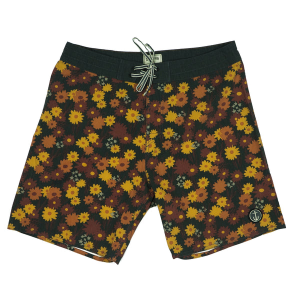 CAPTAIN FIN FIELD OF RADNESS BOARDSHORT - Outer Tribe