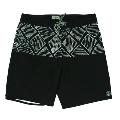 CAPTAIN FIN DIAMOND DUDE BOARDSHORT - Outer Tribe