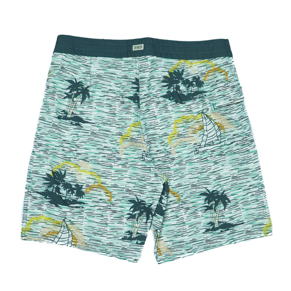 CAPTAIN FIN WIND MOTHER BOARDSHORT - Outer Tribe
