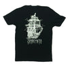 CAPTAIN FIN TALL SHIP TEE - Outer Tribe