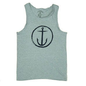CAPTAIN FIN ORIGINAL ANCHOR GRY TEE - Outer Tribe