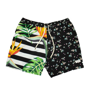 Duvin Tropic Stripe Flowa Short
