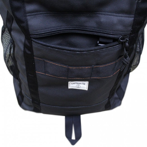 Captain Fin The Pack Mule Cinched Top Bag Negro - Outer Tribe