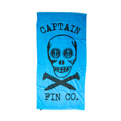 Captain Fin Death Anchor Towel