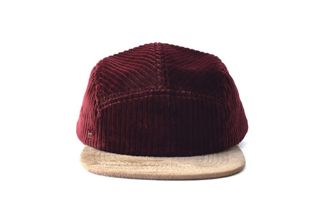 Corduroy Vino Five Panel Hat