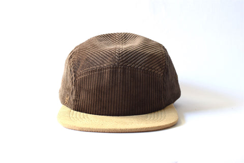 Corduroy Toupe Five Panel Hat