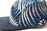 Fern Tropic Azul Five Panel Hat