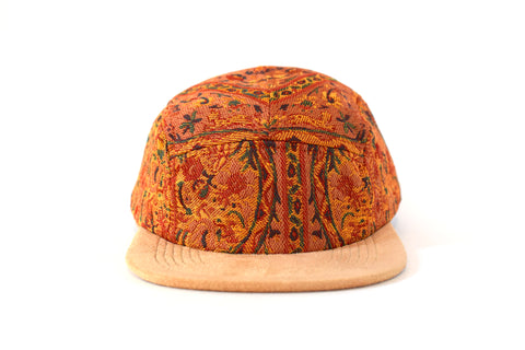 Al Qamsiyah Naranja Five Panel Hat