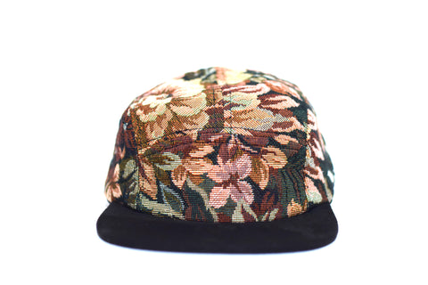 Noche Floral Five Panel Hat