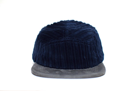 Corduroy Azul Five Panel Hat