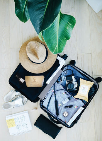 TRAVELING WITH SKINCARE