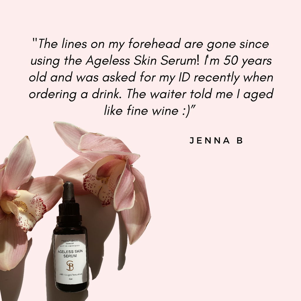 """Ageless Skin Serum is ""liquid gold"". From the minute you smell it to the moment you put it on, it's magic. It feels luxurious and hydrating. Your skin glows as if you just had a facial."""