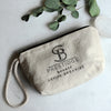 COTTON CANVAS CLUTCH