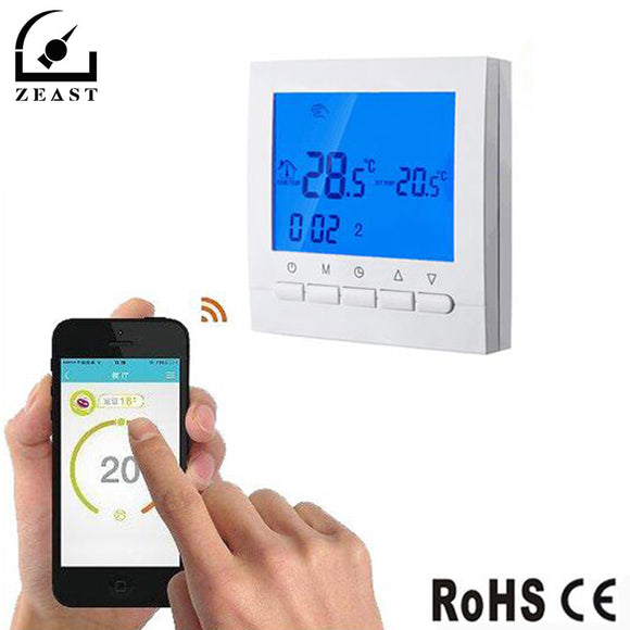 WIFI LCD Wireless Thermostat Smart Thermoregulator Programmable Temperature Controller