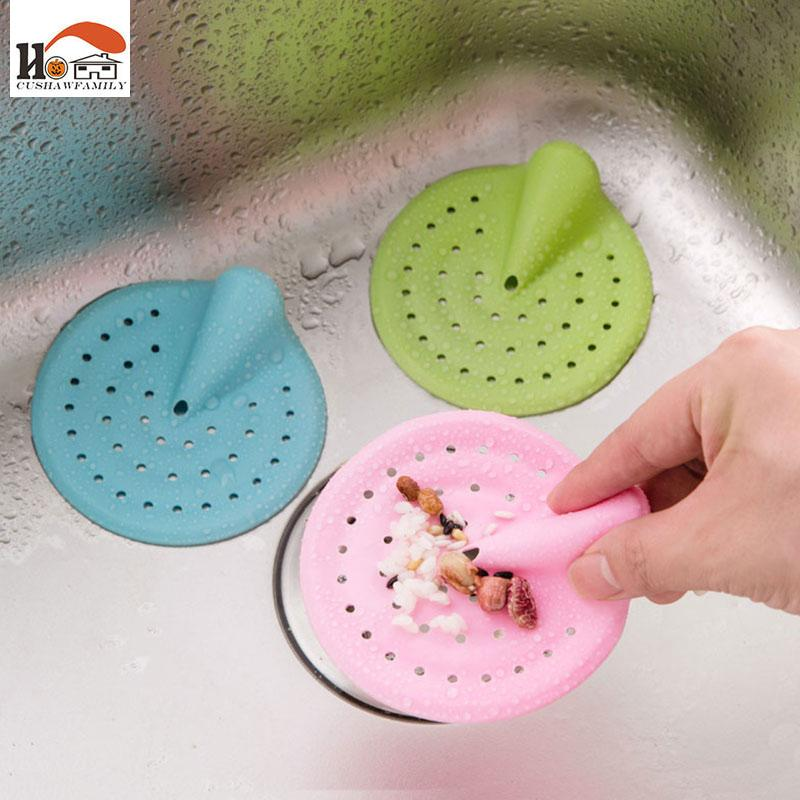 Drain Hair Catcher Cover Kitchen For Sink Home