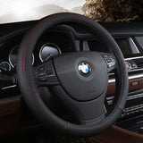 Leather Universal Car Steering-wheel Cover 38CM