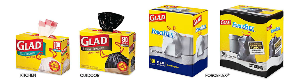 Glad Trash Bags Cleaning