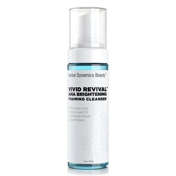 VIVID REVIVAL AHA Brightening Foaming Cleanser