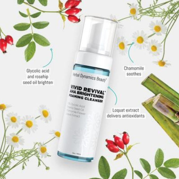 VIVID REVIVAL™ AHA BRIGHTENING FOAMING CLEANSER