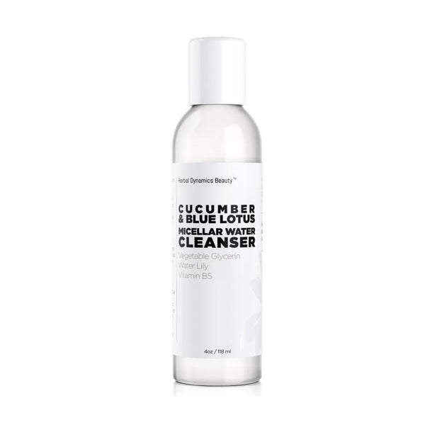 CUCUMBER & BLUE LOTUS MICELLAR WATER CLEANSER