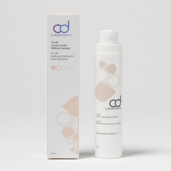 CyberDERM O+Lait: Jojoba to Milk Melting Cleanser