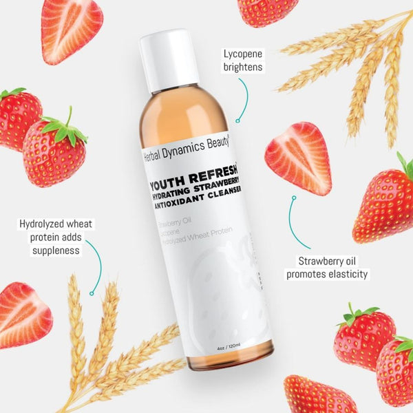 YOUTH REFRESH™ HYDRATING STRAWBERRY ANTIOXIDANT CLEANSER