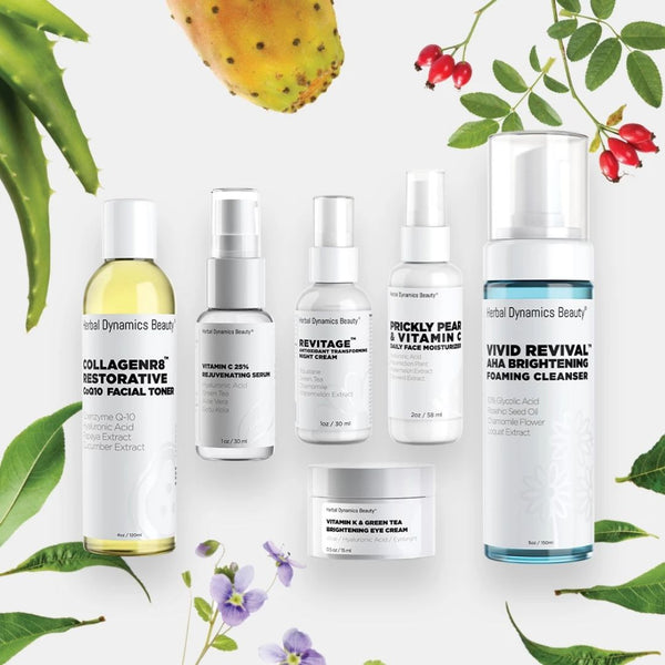 BRIGHTENING SKINCARE ROUTINE BUNDLE (FOR DULL/UNEVEN SKIN TYPES)