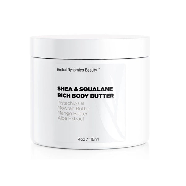 SHEA & SQUALANE RICH BODY BUTTER