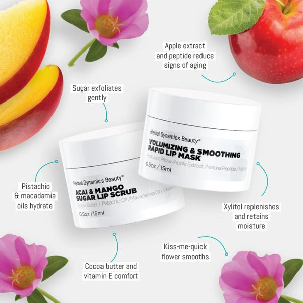 VOLUMIZING LIP SCRUB & MASK DUO