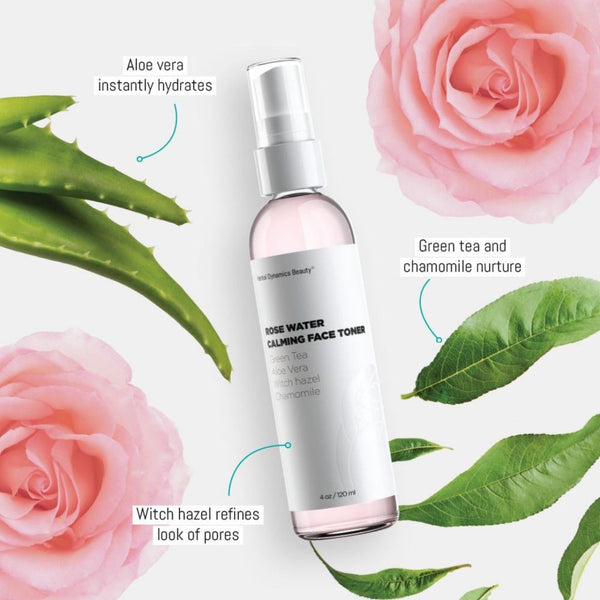 ROSE WATER CALMING FACE TONER