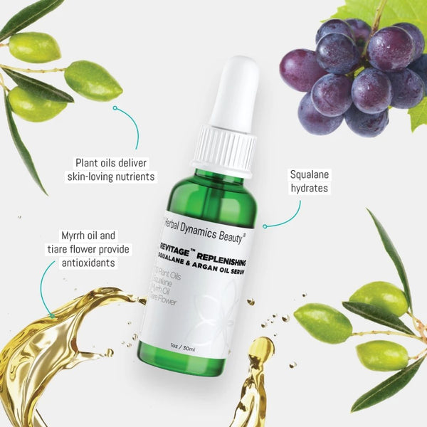 REVITAGE™ REPLENISHING SQUALANE & ARGAN OIL SERUM