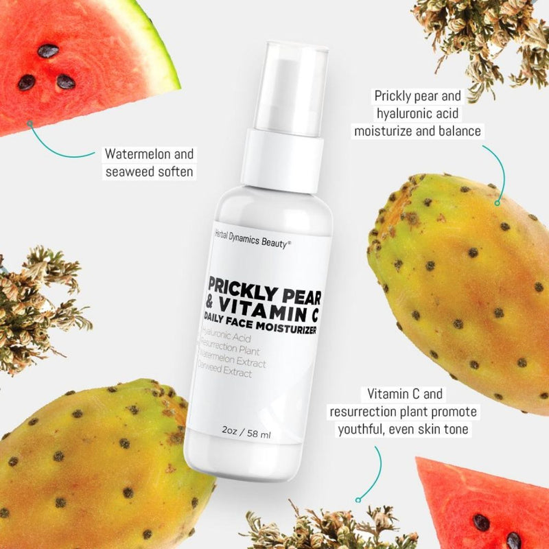 PRICKLY PEAR & VITAMIN C DAILY FACE MOISTURIZER