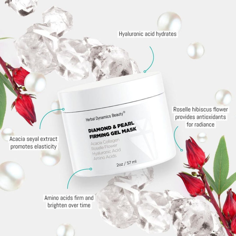 DIAMOND & PEARL FIRMING GEL MASK