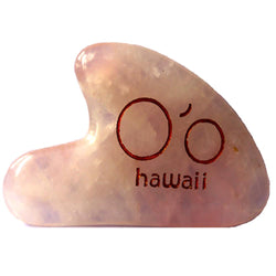 Accessories - O'o Hawaii Rose Quartz Gua Sha Beauty Tool
