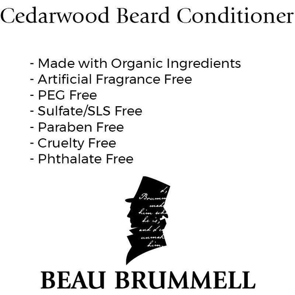 Grooming - Beau Brummell Cedarwood Beard Oil Conditioner