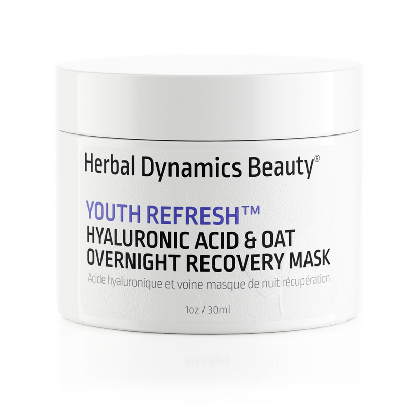 YOUTH REFRESH™ HYALURONIC ACID & OAT OVERNIGHT RECOVERY MASK